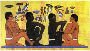Gli Egizi - Storia della Riflessologia Plantare