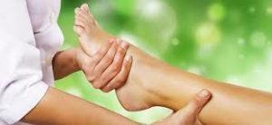 massaggio riflesso del piede
